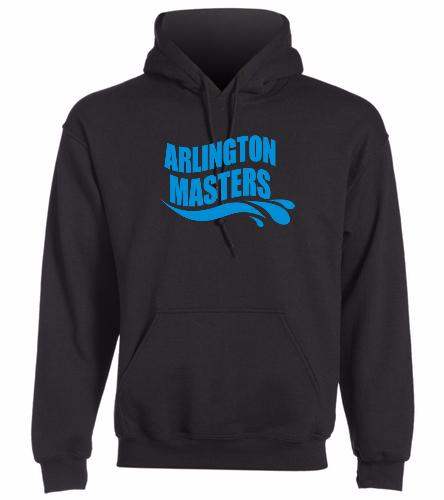 Arlington Masters Swim Team - SwimOutlet Heavy Blend Unisex Adult Hooded Sweatshirt