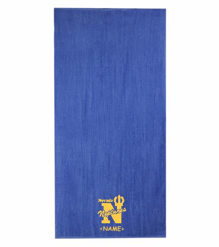 NEVADA NEPTUNES - Diplomat Terry Velour Beach Towel 30 x 60