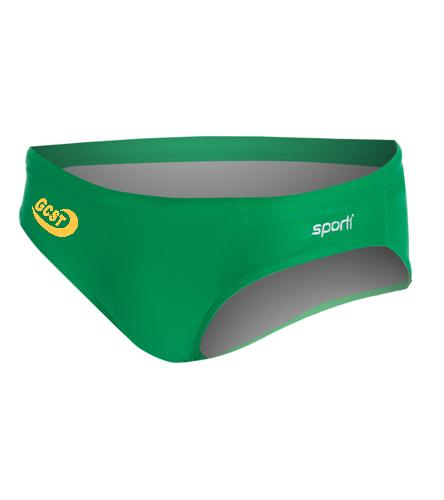 Men's Brief - Sporti Solid Swim Euro Brief Swimsuit