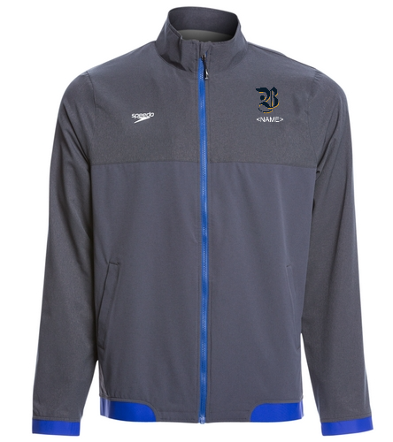 Men's Jacket v2 - Speedo Men's Tech Warm Up Jacket