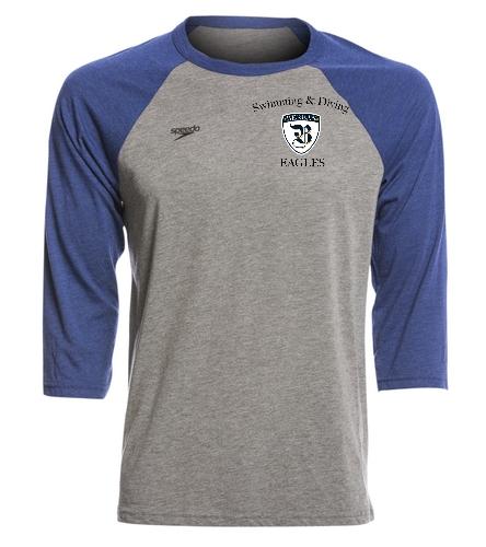 Baseball T shield - Speedo Unisex Baseball Tee Shirt