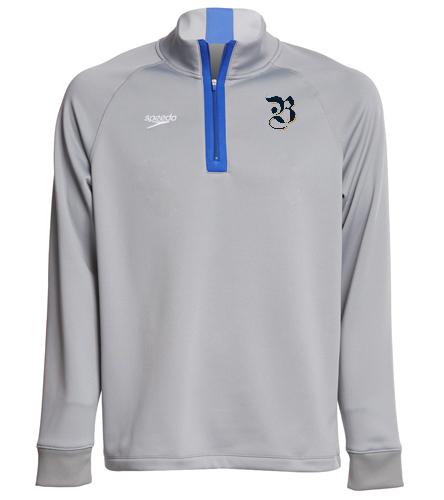 1/4 zip, logo - Speedo Unisex 3/4 Zip Sweatshirt
