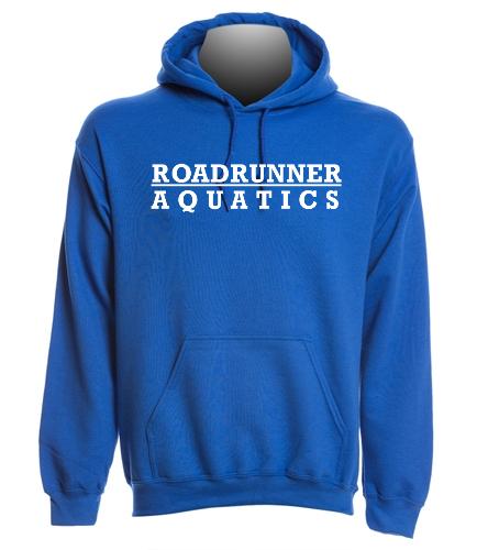 roadrunner blue hoodie - SwimOutlet Heavy Blend Unisex Adult Hooded Sweatshirt