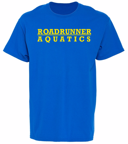Youth Roadrunner - SwimOutlet Youth Cotton Crew Neck T-Shirt