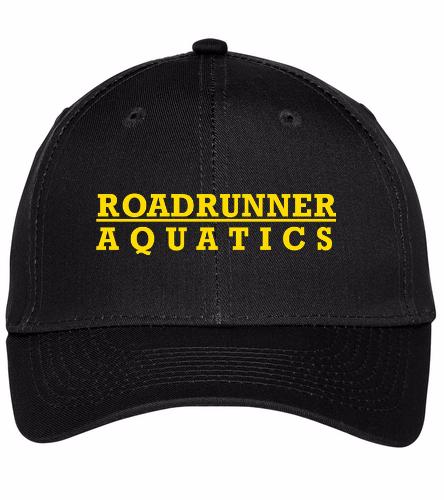 Roadrunner - SwimOutlet Unisex Performance Twill Cap