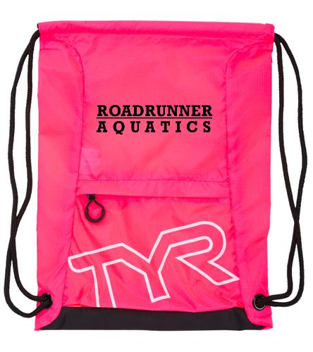 Roadrunner Draw string-Pink - TYR Draw String Sack Pack