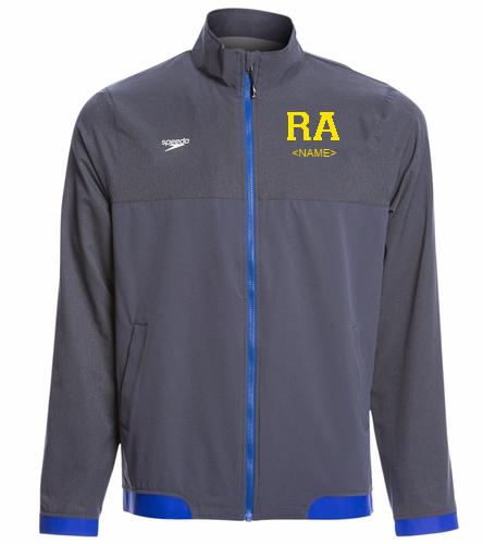Roadrunner  - Speedo Men's Tech Warm Up Jacket