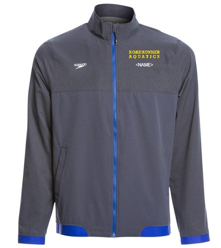 Speedo Team Jacket - Speedo Men's Tech Warm Up Jacket