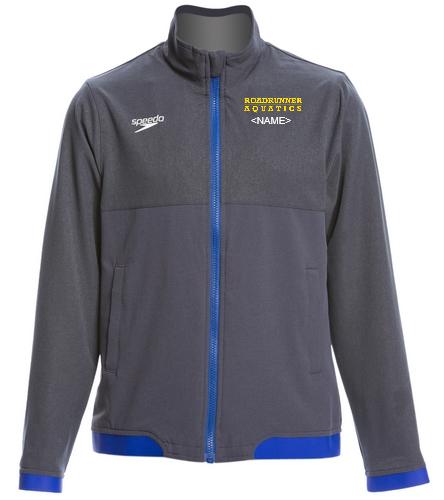 Youth Speedo Team Jacket - Speedo Youth Tech Warm Up Jacket