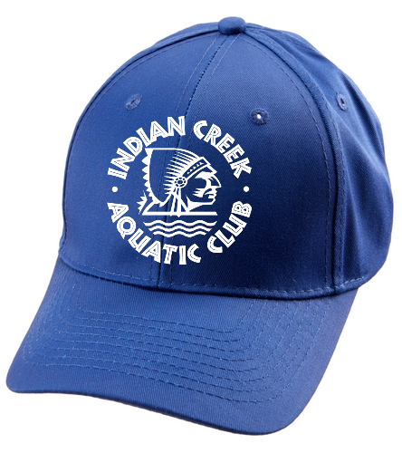 Indian Creek Aquatic Club  - SwimOutlet Unisex Performance Twill Cap
