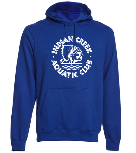 Adult ICAC Hoodie - SwimOutlet Adult Fan Favorite Fleece Pullover Hooded Sweatshirt