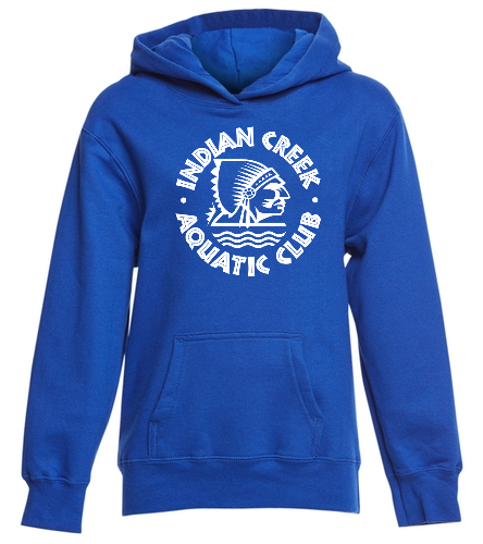 Youth ICAC Hoodie  - SwimOutlet Youth Fan Favorite Fleece Pullover Hooded Sweatshirt