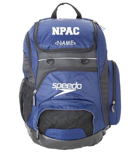 NPAC Speedo Backpack - Speedo Large 35L Teamster Backpack