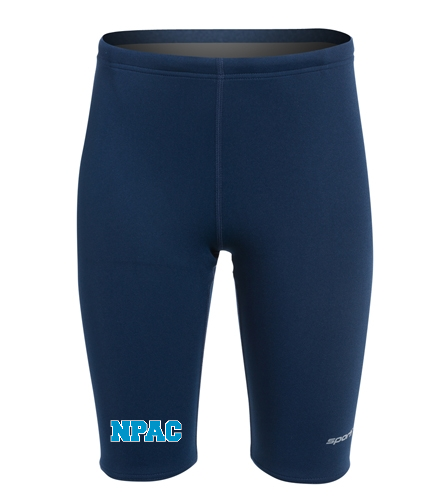 NPAC Sporti Jammer Youth - Sporti Poly Pro Solid Jammer Swimsuit Youth (22-28)