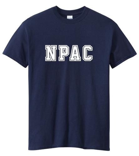 NPAC NAVY Heavy Cotton Tee - Heavy Cotton Adult T-Shirt