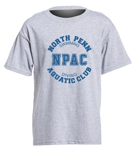 NPAC Youth Heavy Cotton Tee - Heavy Cotton Youth T-Shirt