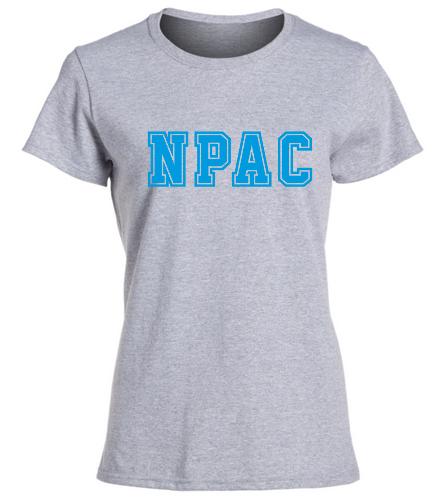 NPAC Cotton Missy Tee -  Heavy Cotton Missy Fit T-Shirt
