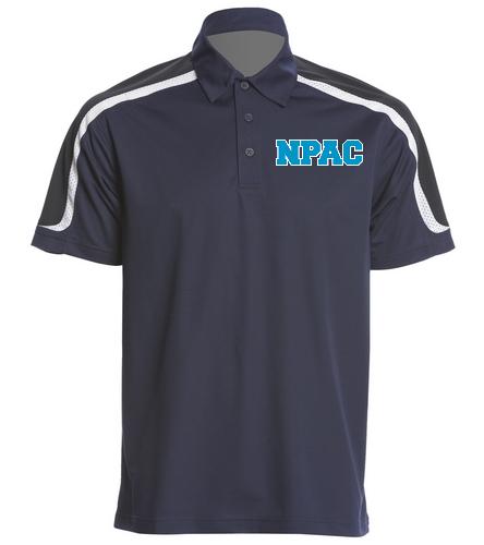 NPAC Tech Polo - SwimOutlet Men's Tech Polo