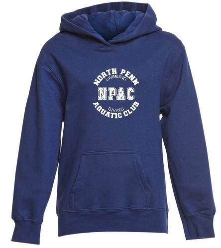 NPAC Swweatshirt - SwimOutlet Youth Fan Favorite Fleece Pullover Hooded Sweatshirt