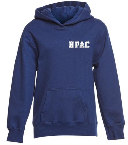 NPAC Swaetshirt 2 - SwimOutlet Youth Fan Favorite Fleece Pullover Hooded Sweatshirt