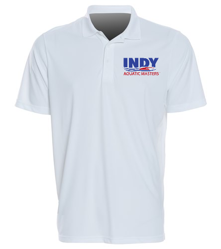 IAM SwimOutlet Sport-Tek PosiCharge Competitor(TM) Polo White - SwimOutlet Sport-Tek® PosiCharge® Competitor™ Polo
