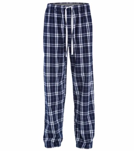 Navy Pant - SwimOutlet Unisex Flannel Plaid Pant