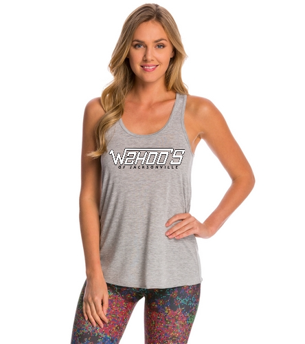 WOJ - Bella + Canvas Flowy Racerback Workout Tank Top