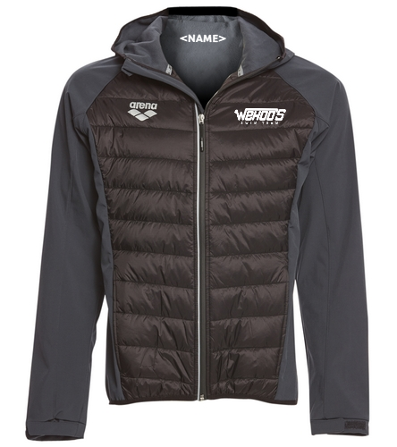 New Team Item - Arena Unisex Team Line Quilted Soft Shell Jacket
