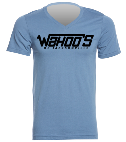 Wahoos - Bella + Canvas Men's Jersey Short Sleeve V-neck Tee