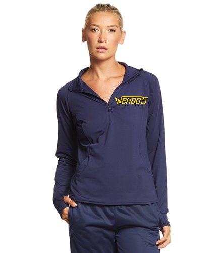 Wahoo's - SwimOutlet Sport-Tek®Women's Sport-Wick®Stretch 1/2-Zip Pullover