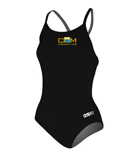 Women's think strap team suit - Arena Women's Master MaxLife Sporty Thin Strap Racer Back One Piece Swimsuit