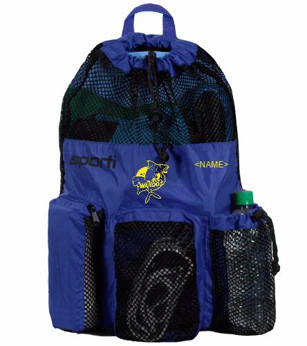 Wahoos Mesh Bag 2 - Sporti Equipment Mesh Backpack