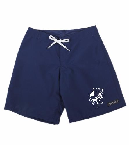 Girls Shorts - Tidepools  - Tidepools Girls' Solid Long Boardshorts (Big Kid)