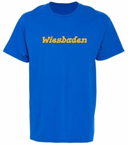 Logo on Back shirt - SwimOutlet Unisex Cotton T-Shirt - Brights