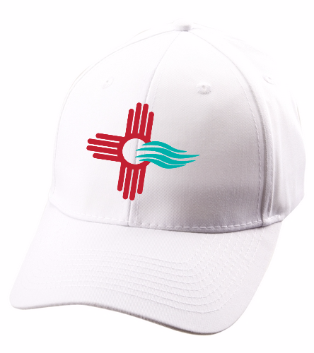 New Mexico Swimming SwimZia Officials Cap - SwimOutlet Unisex Performance Twill Cap