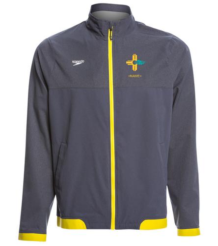 Mens Yellow NMS Warm Up - Speedo Men's Tech Warm Up Jacket