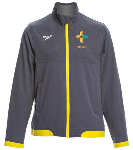 Youth Yellow NMS Warm Up - Speedo Youth Tech Warm Up Jacket