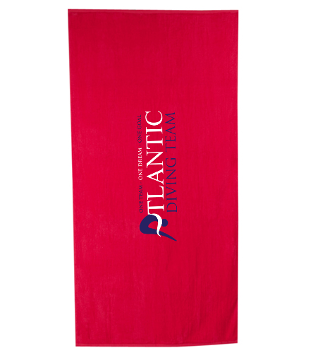 ADT_Beach_Towel - Royal Comfort Terry Velour Beach Towel 32 X 64