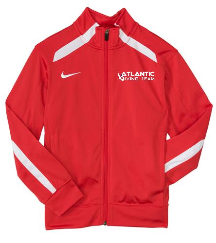 Team Jacket - Nike Swim Youth Overtime Warm-Up Jacket