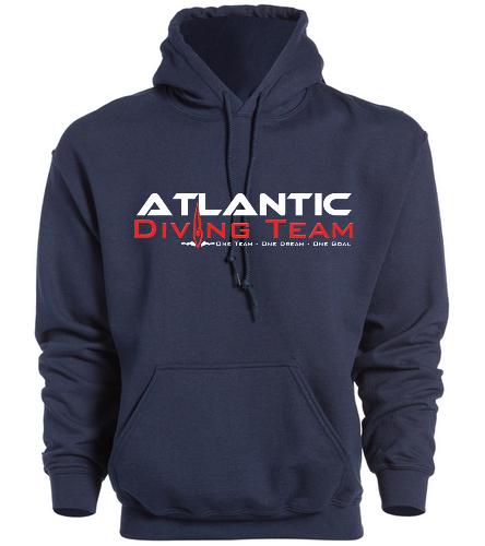 Atlantic Diving Team hs1 -  Heavy Blend Adult Hooded Sweatshirt