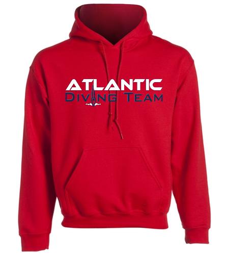 Atlantic Diving Team hs2 -  Heavy Blend Adult Hooded Sweatshirt