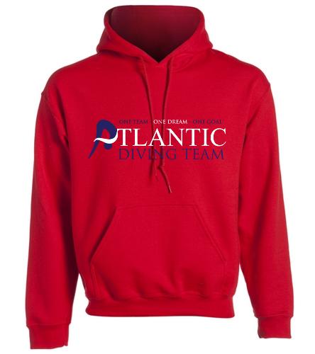 ADT_Red_Sweatshirt - SwimOutlet Heavy Blend Unisex Adult Hooded Sweatshirt
