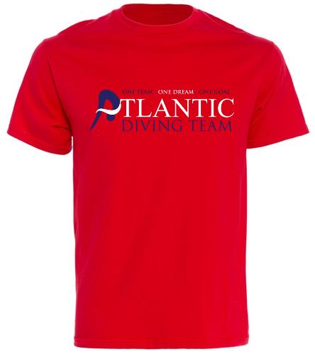 ADT_Red_shirt - SwimOutlet Cotton Unisex Short Sleeve T-Shirt