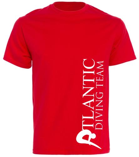 ADT_Red_shirt2 - SwimOutlet Cotton Unisex Short Sleeve T-Shirt