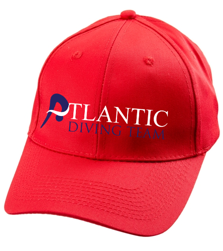 ADT_Red_hat - SwimOutlet Unisex Performance Twill Cap