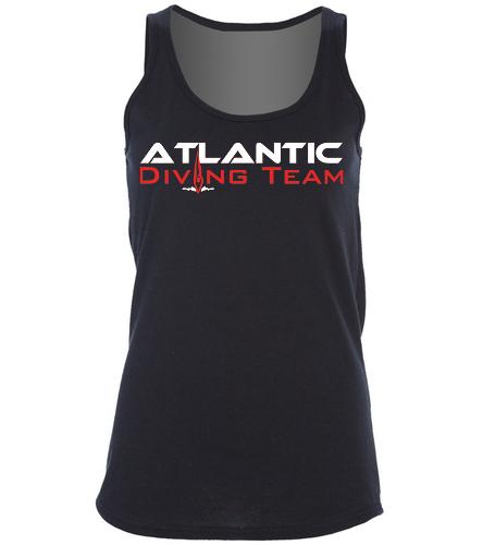 Atlantic Diving Team tt2 -  Ladies 5.4-oz 100% Cotton Tank Top