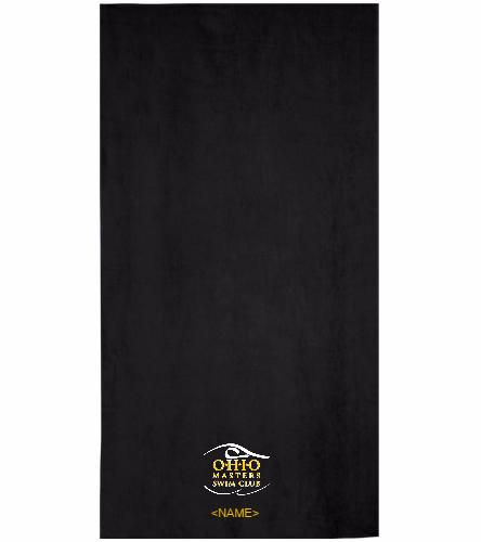 OMSC  Towel - Royal Comfort Terry Velour Beach Towel 32 X 64