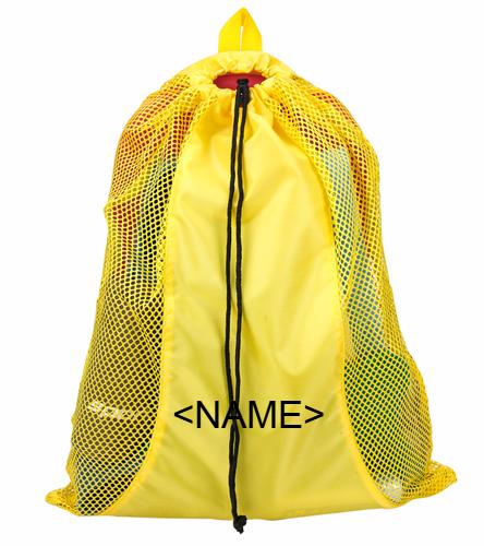 Mesh Equipment Bag - Gold - Sporti Premium Mesh Bag