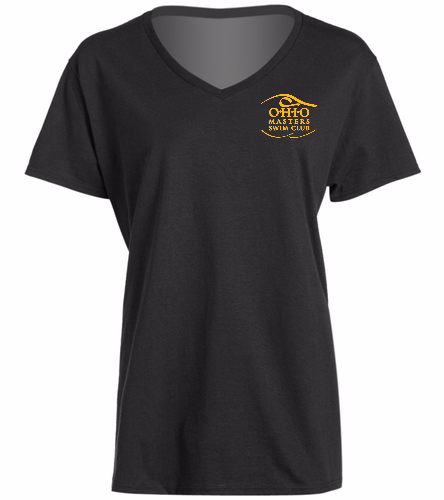 Ladies V Neck Team T-Shirt -  Ladies V-Neck