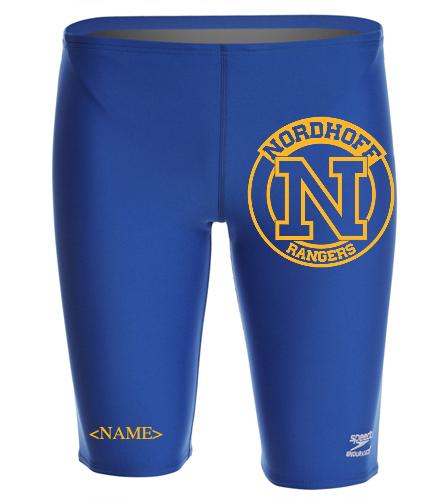 2021 Swim Team Suit - Speedo Men's Solid Endurance+ Jammer Swimsuit